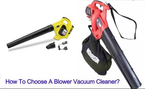 blower vacuum cleaner