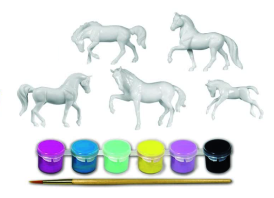 best paint for small plastic toys